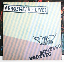 AEROSMITH Live Bootleg hard rock holland dutch 1978 CBS 88325 POSTER 2LP EX+