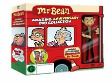 """MR BEAN COMPLETE ULTIMATE COLLECTION + MR BEAN FIGURE DVD BOX SET 14 DISC """"NEW"""""""
