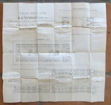 Cymric (White Star Line) c1905 Deck Plan