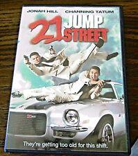 21 Jump Street (DVD, 2012 ) Channing Tatum Jonah Hill Ice Cube Brie Larson