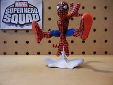 Marvel Super Hero Squad SPIDER-MAN Comic Version Jumping White Web Webbing