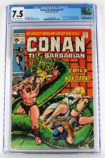 Conan The Barbarian #7 CGC 7.5