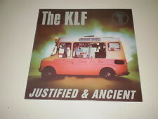 "THE KLF - JUSTIFIED & ANCIENT - 12"" RICORDI MAXI SINGLE MADE IN ITALY - NM/EX-"