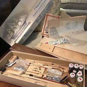 Vintage Scientific Models The SEA WATCH CLIPPER Ship Model Kit Unassembled # 171