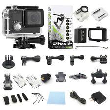 Cámara De Acción 4K Pantalla Dual Videocámara HD Ultra + Paquete De Accesorios