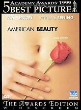 American Beauty Dvd 5 Oscars Kevin Spacey Annette Bening Out of print New Free