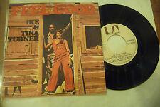 """IKE&TINA TURNER"""" FEEL GOOD-disco 45 giri UA France 1972""""NUOVO"""