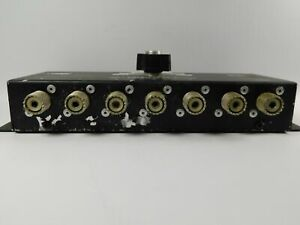MFJ-1701 Antenna Selector Switch 6 Position 2000w 1.8-30 MHz (superficial wear)