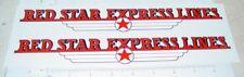 Dunwell/Buckeye Red Star Lines Semi Sticker Set Dw-005