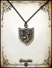Lion rampant pendant jewelry - Handmade pendant