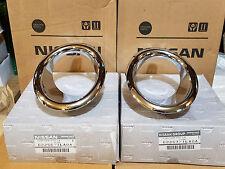 NEW OEM INFINITI 2011-2013 QX56 CHROME FOG LAMP BEZELS  62256-1LA0A 62257-1LA0A