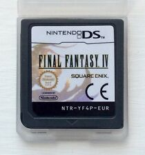Final Fantasy IV 4 Nintendo DS NDS Lite 2DS XL 3DS DSi Role Playing Video Game