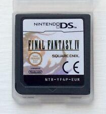 FINAL FANTASY IV 4 Nintendo DS NDS LITE 2DS XL 3DS DSi Videogioco giochi di ruolo