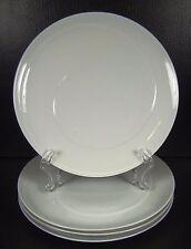 Dansk Imagine Studio Levien Set of 4 Salad Plates White Swirl