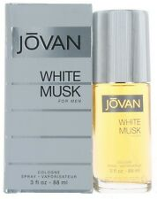 White Musk by Jovan for Men Cologne Spray 3 oz.-Damaged Box