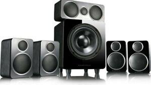 Wharfedale Home Cinema Speaker Package Black - DX-2 5.1