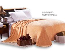 Thin blanket summer soft blankets throws flannel velvet blanket full queen king