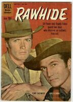 🚚 RAWHIDE May-July No.1097 Clint Eastwood! 1960 Dell 10c in VG  4.0