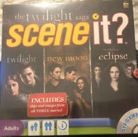 Scene It The Twilight Saga Deluxe DVD Board Game NEW SEALED.C