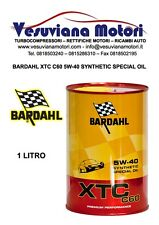 BARDAHL OLIO MOTORE AUTO XTC C60 SYNTHETIC SPECIAL OIL 5W-40 5W40