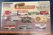 Bachmann N Scale F7A Super Chief Train Set #24021 NIB Factory Sealed