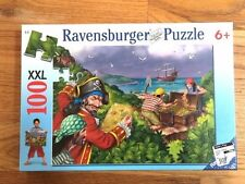 RAVENSBURGER Jigsaw Puzzle 100 XXL No. 10 977 7 Pirates Treasure New Sealed