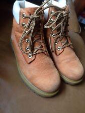 Unisex timberland boots Size UK 3 Pattern Brown