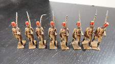g Britains Toy Soldiers Lead Arabs Soldiers in Uniform with Fez Marching