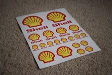 Shell RC Car Vehicle Motorbike Bike Logo Badge Racing Tuning Decals Stickers