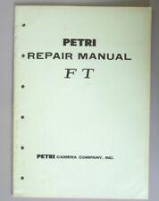 Petri Ft Service & Repair Manual Original