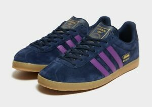 adidas Originals Mens Gazelle Trainers Blue Sneakers