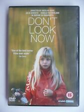 Don't Look Now (DVD, 2002) Nicolas Roeg, Donald Sutherland, Julie Christie