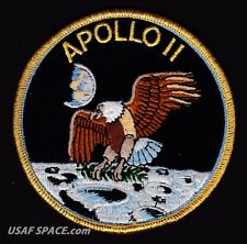 Apollo 11 ORIGINAL AB Emblem Nasa SPACE Mission PATCH Armstrong-Aldrin-Collins