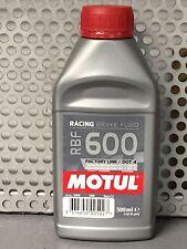 LIQUIDO FRENI OLIO MOTUL RBF 600 FACTORY LINE DOT 4 500 ML