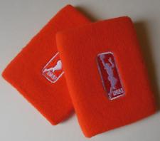 Nike Wnba para Dama Dri-Fit Muñequeras un Par Color Brillante Naranja Talla Osfm