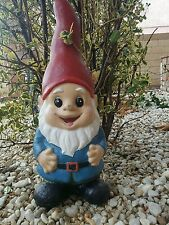 latex and fiberglass mold for plaster or concrete garden gnome
