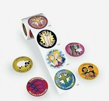 Bible Verse Roll of Stickers 100 ct
