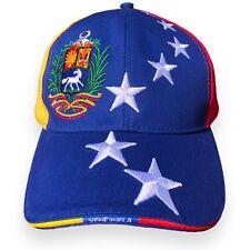 GORRA ORIGINAL DE VENEZUELA - 7 estrellas -Blanca y Tri-color - Venezuelan Hat