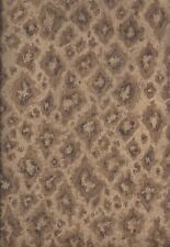 BTF 104 Sq Ft Of Mocha Brown Large, Widely Spaced Leopard Spots Wallpaper S5342