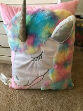 Justice Unicorn Large Pillow