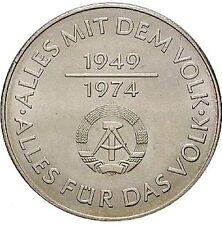 10 Mark Gedenkmünze, 25 Jahre DDR