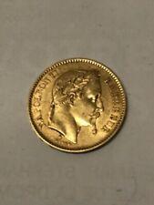 Pièces de monnaie françaises de 20 francs 20 francs à 40 francs sur Napoléon III