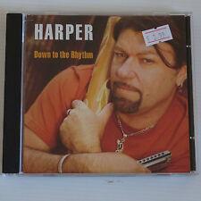 Peter Harper - Down to the Rhythm (2010) Blind Pig Blues CD Album