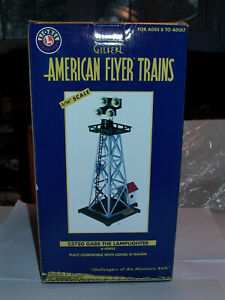 American Flyer #49805 Gabe the Lamplighter NOS,MINT BOXED Orig Cd.,WOW ! L@@K !