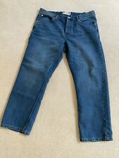 Mens French Connection New Regular Blue Jeans W38 L30