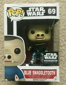 Vaulted Blue Snaggletooth Funko Pop! #69 Smugglers Bounty Exclusive Unopened