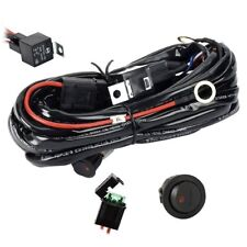 Wiring Harness Relay Kit For LED Light Bar 300W 12V 40A With Fuse On/Off Switch