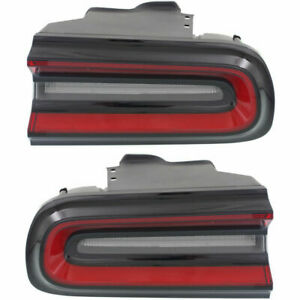 DODGE CHALLENGER 2015-2020 RIGHT LEFT TAIL LIGHTS TAILLIGHTS REAR LAMPS PAIR