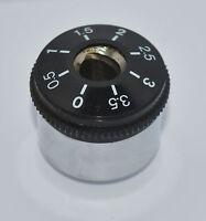 Garrard Turntable Parts - Tone Arm Counterweight - 70 grams / 8 mm shaft