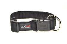 Dogline Comfort Microfiber Soft Padded Pet Puppy Dog Collar Nylon Reinforecement